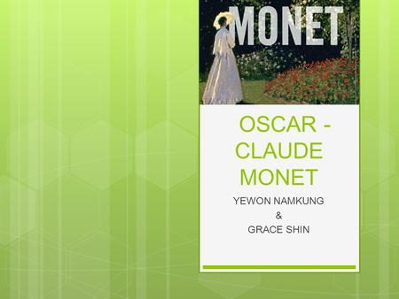 a short biography of claude monet Here are some facts about the french impressionist painter, claude monet claude monet was born on 14th november 1840 in paris, france he was named oscar-cluade, and his parents called him oscar monet's father was a grocer and his mother was a singer claude decided not to take up a position in his father's business [.