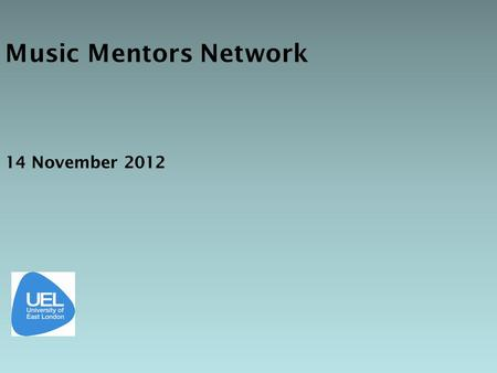 Music Mentors Network 14 November 2012. De-brief, following observation should occur within 24 hours, including written feedback (commentary & summary)