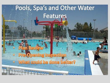 Plan Review Required Materials [ARM 37.115.308(3)] – (a) a plan view and a sectional view of both the pool, spa, or other water feature or related facility,
