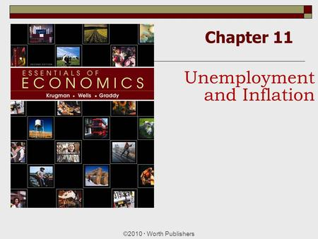 Chapter 11 ©2010  Worth Publishers Unemployment and Inflation.