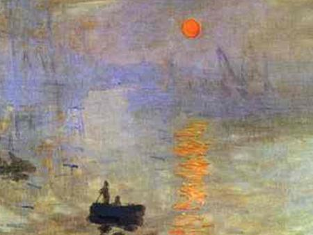 "Claude Monet 1840-1926 ""Impression: Sunrise"" 1873 Oil on canvas."