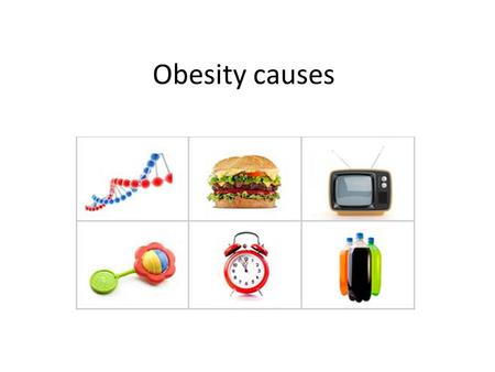 Obesity causes. What Tips the Scales Toward Excess Weight? The causes of obesity are as varied as the people it affects. At its most basic, of course,