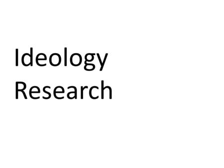 Ideology Research. ANARCHISM representing any society or portion thereof founded by anarchists, that functions according to anarchist philosophy.