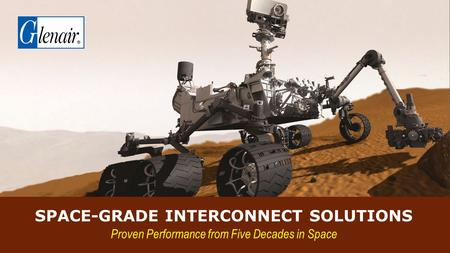 Space-Grade Interconnect solutions