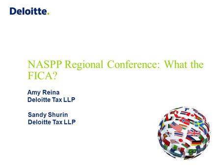 NASPP Regional Conference: What the FICA?