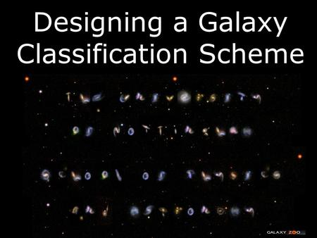 Designing a Galaxy Classification Scheme. M51 (Modern View)