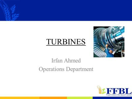 Irfan Ahmed Operations Department