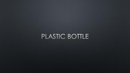 Plastic bottles were first used commercially in 1947, but remained relatively expensive until the early 1960s when high-density polyethylene was introduced.