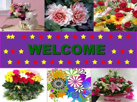 WELCOME                 WELCOME                 