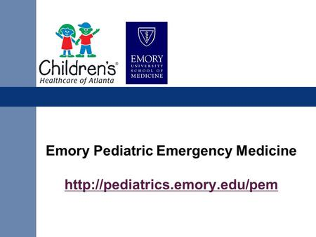 Emory Pediatric Emergency Medicine