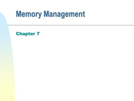 memory management requirements essay The difference between windows and linux memory management starts with  understanding the requirements of memory management in today's.