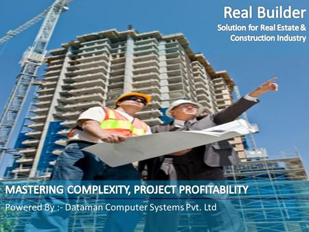 Build your Business Growth on the ground of Dataman's ERP Solutions Powered By :- Dataman Computer Systems Pvt. Ltd.
