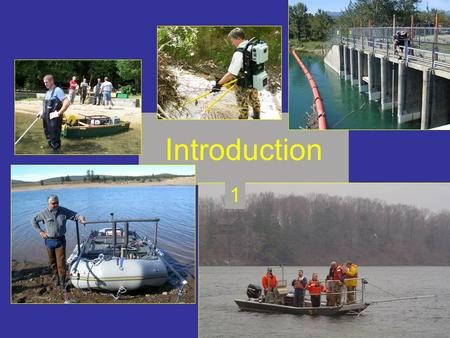 Principles & Techniques of Electrofishing