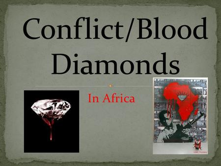 In Africa. How are diamonds formed? Diamonds take 3 Billion years to make What are diamonds? They are made of carbon that has been crystallized from billions.
