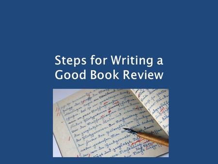 How To Write a Book Review in 6 Steps