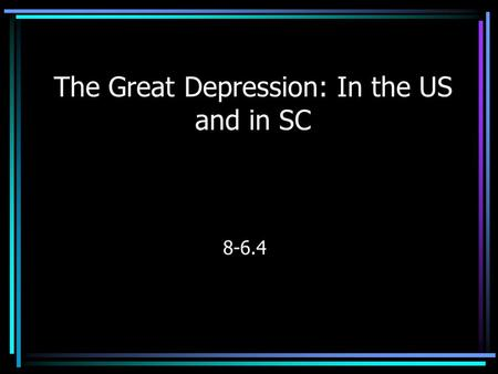 the economic and social effects of the great depression in the us The great depression brought economic turmoil, political rise, social  causes effects of the great depression religious  reps of the 1930's economic effects.