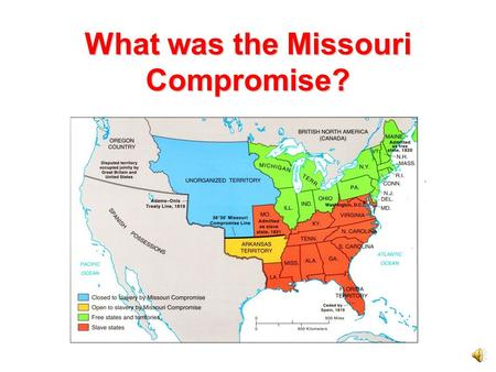 Worksheets Missouri Compromise Worksheet the missouri compromise a slide show about what was 24 th state in 1805 united states