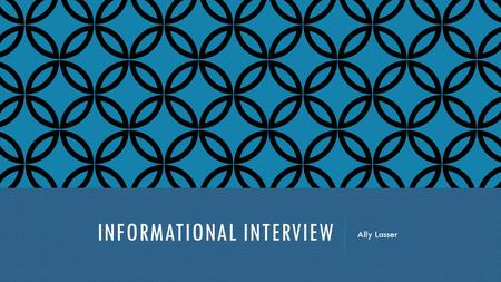 INFORMATIONAL INTERVIEW Ally Lasser. JOSE HOLDER: COMIC BOOK ARTIST Los Angeles California.