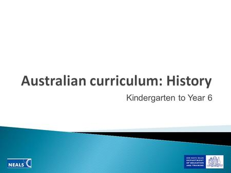 Kindergarten to Year 6.  Does the Rationale clearly describe the place of history in the curriculum and the contemporary world?  Does the Aim clearly.
