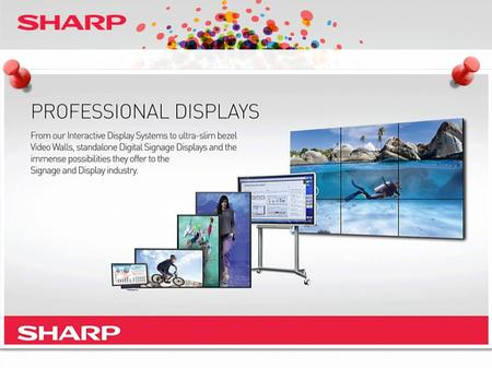 "SMALL SIZE TOUCH DISPLAY LL-S201A BELOW 60"" PN-U423 PN-U473 PN-U553 42"" 47"" 55"" 20"" 60"" ABOVE PN-R903 PN-E802 PN-R703 PN-E702 80"" 70"" 60"" VIDEO WALL DISPLAYS."