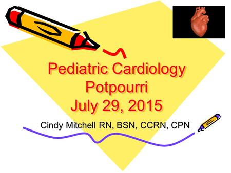 S.S. project about pediatric cardiologists?
