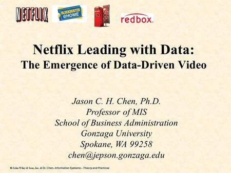 netflix case study david becomes goliath analysis