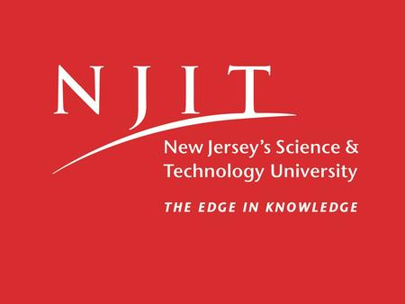 Department of Humanities College of Sciences and Liberal Arts Writing Program Assessment at New Jersey Institute of Technology Carol Siri Johnson Associate.
