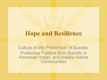 an overview of the prevention of aboriginal suicide in canada