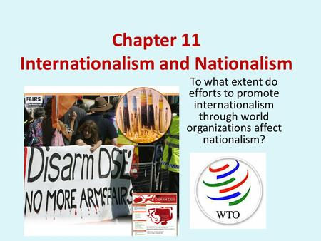 To what extent should we embrace nationalism?