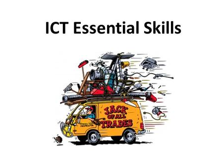 ICT Essential Skills. Email (electronic mail) Snail Mail.