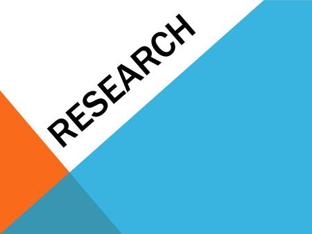 RESEARCH. STEPS TO RESEARCHING 1. Identify and Develop Your Topic 2. Find Background Information 3. Use Catalogs to Find Books 4. Find Internet Resources.