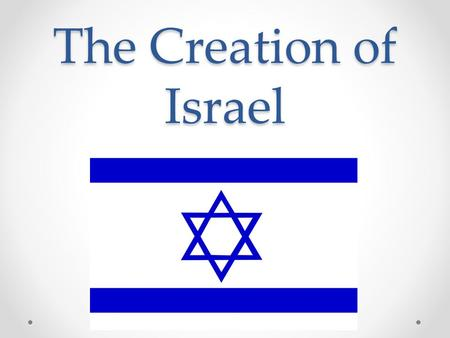 The Creation of Israel. Outside Influences: The United States… the new Britain in foreign policy The Arab League… unity among Arab people The United Nations…