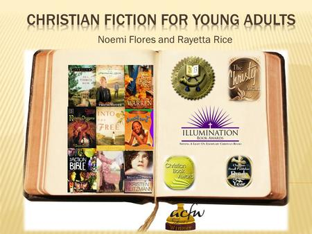 Noemi Flores and Rayetta Rice. For now, the new style definition of Christian Fiction seems to be a genre of literature focusing on the redemptive work.