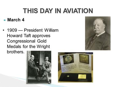 THIS DAY IN AVIATION March 4