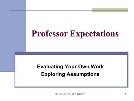 what makes a good professor essay Essay : qualities of a good teacher education is the most important part in one's life the kind of education one receives largely depends upon the kind of teacher one has, especially in the early years of one's schooling.