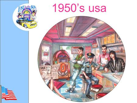 1950's usa. location Social Issues The Fifties brought on a new age of technology and advancement.