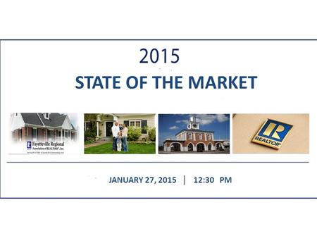 STATE OF THE MARKET JANUARY 27, 201512:30 PM. + +5.7% (+322)
