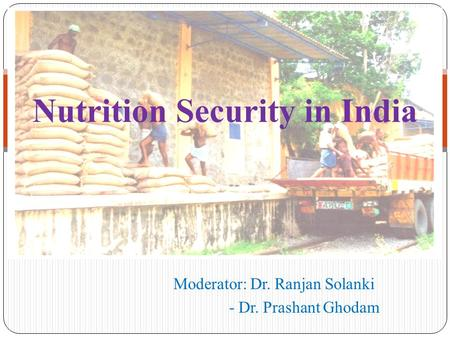 Nutrition Security in India