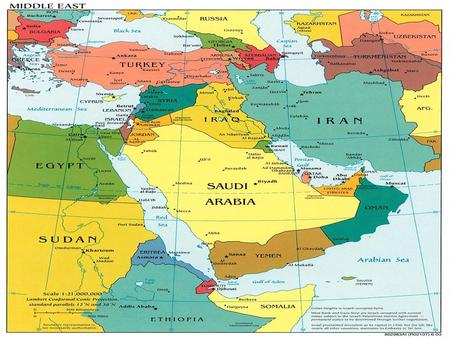 The Middle East. Background Late 1800s – Zionism: Jewish Nationalist Movement – Want independent state in homeland World Response – Sympathetic because.