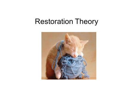 oswalds theory of the restoration of sleep function Ao1 according to the restoration theory, the function of sleep is to restore   oswald (1980) said that nrem sleep restores the body, whereas.