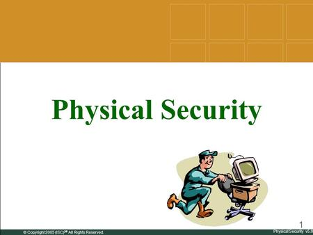 Physical Environmental Security Ppt Download