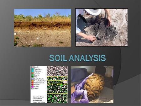 What is Soil?  Soil itself is very complex.  It would be very wrong to think of soils as just a collection of fine mineral particles (dirt.)  Soil.