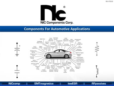 Components For Automotive Applications REV-072015.