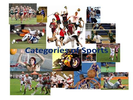 Amateur Sports A person who does not get paid to play a sport – Must only have desire and drive to play – Amateur sporting events attract: Fans Attention.