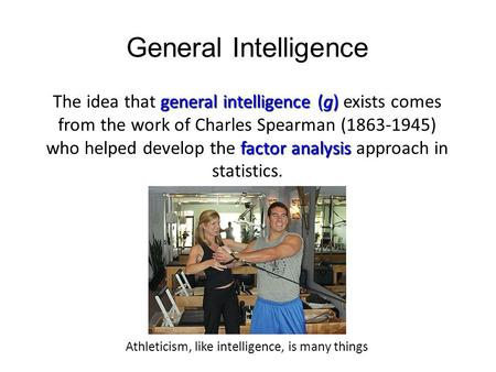 Athleticism, like intelligence, is many things