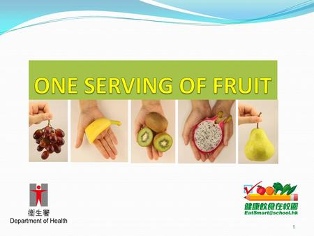 1. Background Studies in recent years suggest that eating an adequate amount of fruits can reduce the risk of heart disease, stroke and certain cancers.