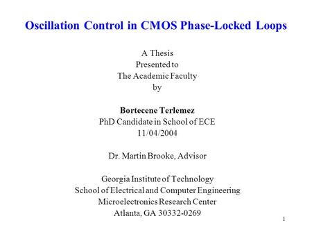 digital control oscillator thesis Search results for: digital control oscillator thesis proposal click here for more information.