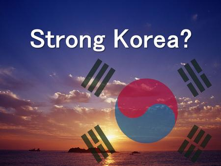 Strong Korea?. [Correspondent's report] Chinese Diplomacy Ignores the truth Segye Ilbo Empty calls for both North and South to excersize restraint.