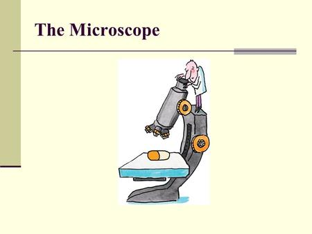 The Microscope.