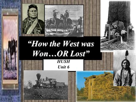 changes on western frontier chapter 13 Chapter 13 changes on the western frontier essential question how did westward migration after the civil war affect the united states alabama course of study.